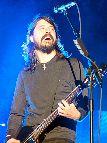 Dave Grohl of the Foo Fighters at V
