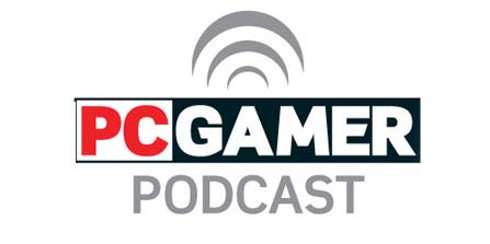 PCGamer Podcast Logo